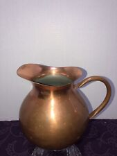 Copper Pitcher (56 ozs.) by Tagus-Portugal