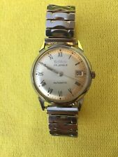 Vintage 1969 BULOVA, 23 Jewels Automatic 10CPACD Mvt, SS Case, Date, Runs Great!