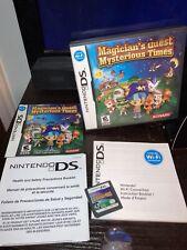 Magician's Quest: Mysterious Times (Nintendo DS) Authentic -- Complete 3DS