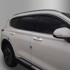 Chrome Door Handle Catch Molding Trim Cover for 2018 2019 Hyundai Santa Fe