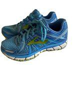 Brooks Adrenaline GTS 17  Running Shoes Blue/Green 1202311B464 Women's Size 8.5
