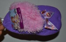 Disney Princesses Slippers Socks with FUZZY Plush Fur One Size fits most