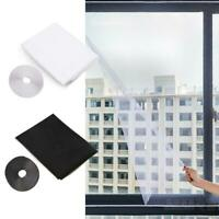 5PCS DIY Mosquito Net Curtain Window Anti-insect Mesh Screen with Stickers Tape