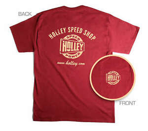 Holley 10024-XXLHOL Holley Speed Shop T-Shirt