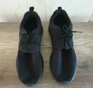 Nike Roshe One Suede Schuhe Sneaker Schwarz Gr. 38,5 (24 cm)
