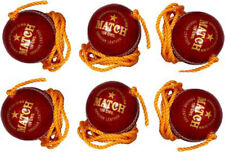 Tima Cricket Training Hanging Ball Pack of 6 Red Balls Us