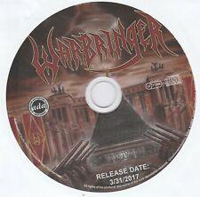 WARBRINGER - WOE TO THE VANQUISHED ,PROMO CD 3-31-2017