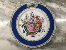 Vintage Limoges France Bouquet Grand Siecle National Horticulture Society Plate