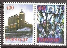 Faroer - 1995 - Mi. 289-90 (Kerken) - Postfris - FA025