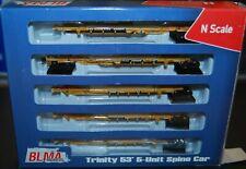 BLMA 12003, N-Scale Trinity 53' 5-unit Spine Car TTAX #555095 --NEW--