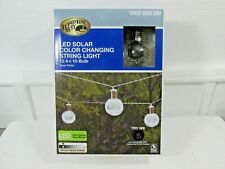 Hampton Bay LED Solar Color Changing String Lights - Patio, Deck, Party, Wedding