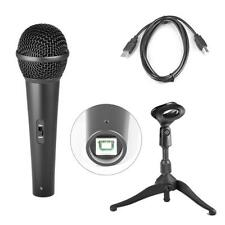 Pyle PDMICUSB6 Dynamic Studio & Recording USB Microphone Connects to DJ & Laptop