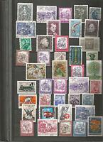 Österreich Austria Konvolut Stamps Sellos Briefmarken Timbres