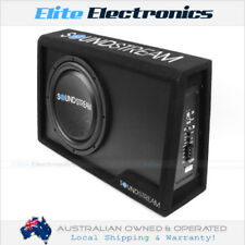 """SOUNDSTREAM PSB.10A 500W 10"""" AMPLIFIED SHALLOW SUBWOOFER ENCLOSURE"""