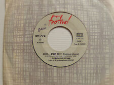 "JEAN-CLAUDE DECAMP : Ahhh...après tout -  7"" SP 1967 JUKE BOX FESTIVAL DN 772"