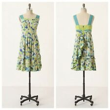 Anthropologie Girls From Savoy NWT Fresh Currant Floral Retro Tea Sundress 4