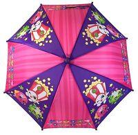 Shopkins Kids Umbrella Girls Parasol Paraguas - purple - Licensed Product