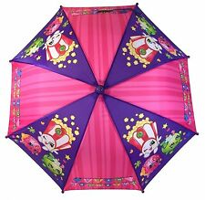 Shopkins Kids Umbrella Girls Parasol Paraguas - purple - Licensed Product
