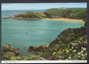Channel Islands Postcard - Plemont Bay, Jersey     RR4744