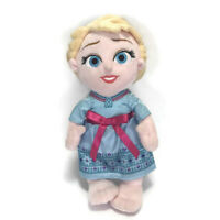 "Disney Parks Babies Elsa Plush Frozen Princess Stuffed Animal Toy Gift 11"""