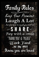 A3 FAMILY LIFE LOVE INSPIRATIONAL MOTIVATIONAL QUOTE POSTER PRINT #33