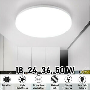 18-48W LED Celling Down Light Cool/Warm Panel Lamp Indoor Surface Mount Round MA