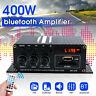 400W DC12V bluetooth HiFi Power Amplifier Car Stereo Music Receiver FM Radio MP3