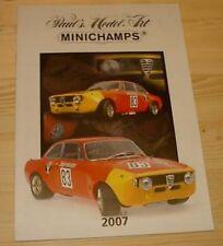 Katalog Minichamps 2007 Edition 3 - Neu