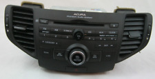 2010 ACURA TSX CD PLAYER, RADIO,CLOCK, AUX  WITH AIR VENTS OEM