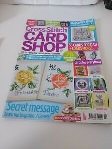 Pre Owned Cross Stitch Card Shop Magazine Only Issue 84 May/june