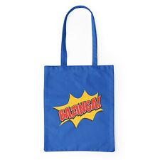 The Big Bang Theory Bazinga Blue Canvas Bag 38x42cm (15x16.5inch)
