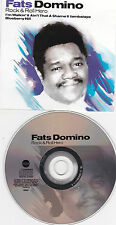CD PICTURE 19T FATS DOMINO ROCK & ROLL HERO BEST OF 2001 TBE