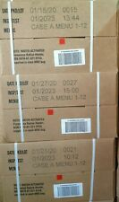 3 x CASE A US ARMY MRE rations meal ready to eat survival exp 2025 EU 8