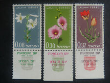 Israel 15th Anniversary of Independence Set 1963 With Tabs - MUH - High CV