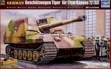 Geschützwagen Tiger für 17 cm Kanone 72 (Sf) 1:35 Model Kit Trumpeter 00378