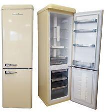 Retro SchaubLorenz A+ Kühlschrank Gefrierkombination SL300 Cremeglanz 55cm breit