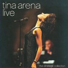 Live: the Onstage Collection by Tina Arena (CD, Jan-2010, 2 Discs, Liberation)