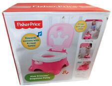NIB Fisher-Price Pink Princess 2-in-1 Stepstool and Training Potty