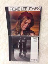 """RICKIE LEE JONES - Lot of 2 CD's """"Pirates/Self-titled Rickie Lee Jones"""""""