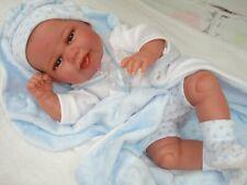 """Reborn Baby Puppe""""Tino"""",Spielpuppe,Sammlerpuppe,Babypuppe,Reborn,Vollvinyl"""
