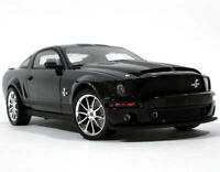 2008 FORD SHELBY MUSTANG GT500KR BLACK 1:18 MODEL BY SHELBY COLLECTIBLES SC299