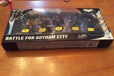 Batman Dark Knight Rises Battle For Gotham City Figure Set MIB Target Exclusive!