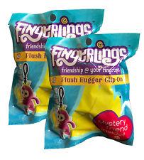 Fingerlings Mystery Friends Plush Clip On - Pack of 2