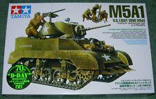 Tamiya 1/35 u.s. M5A1 light tank new mint & sealed