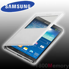 GENUINE Samsung S View Cover Flip Wallet Case for Galaxy Note 3 GT-N9005 White