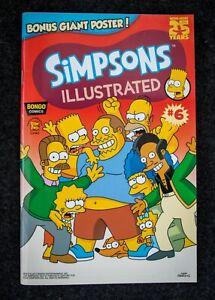 The Simpsons Illustrated comic #6 Bongo/Otter Press - Unread, NM+