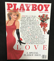Playboy February 1989 ~ Simone Eden Andrea Marcovicci NUDE ~ VERY GOOD!