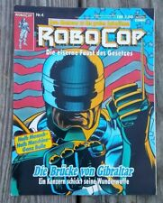 1990 German ROBOCOP Comic Book Nr.4 BASTEI Comic PUNISHER Back Panel