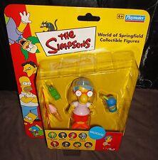 Los Simpsons Milhouse cardada figura de acción (Playmates) 2002