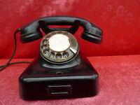 altes Telefon__Bakelit___Siemens !
